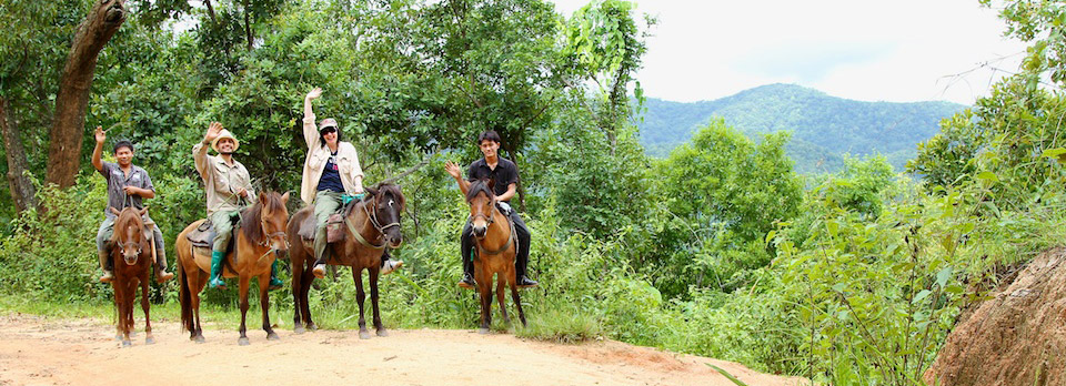 Thai Horse Farm  Four Days Horseback Riding Adventure Into